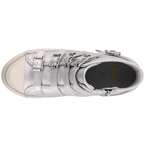 Ash - Venus Buckle Trainer Shoe, Silver