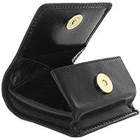 Visconti Bolsa de Bandeja de Cuero para Monedas 421 Negro