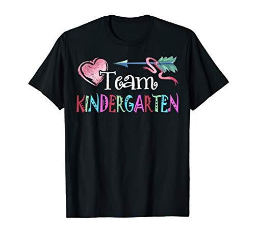 Team Kindergarten Funny Shirt Teacher Student Back To School T-Shirt -