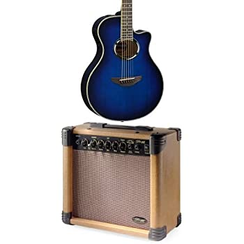 yamaha apx500iii obb with stagg 15 watt acoustic amp musical instruments. Black Bedroom Furniture Sets. Home Design Ideas
