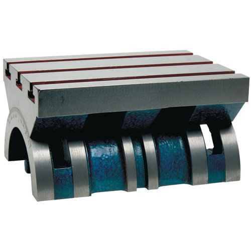 TTC Adjustable Tilting Angle Plate - Model: A.A.P.-3 Size : 10'' x 15'' Table T-Slot: 1/2'' Height : 6-1/4''