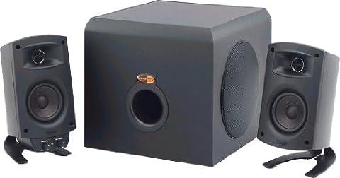 Klipsch ProMedia 2.1 THX Certified Computer Speaker System (Black) (Subwoofer And Center Speaker)