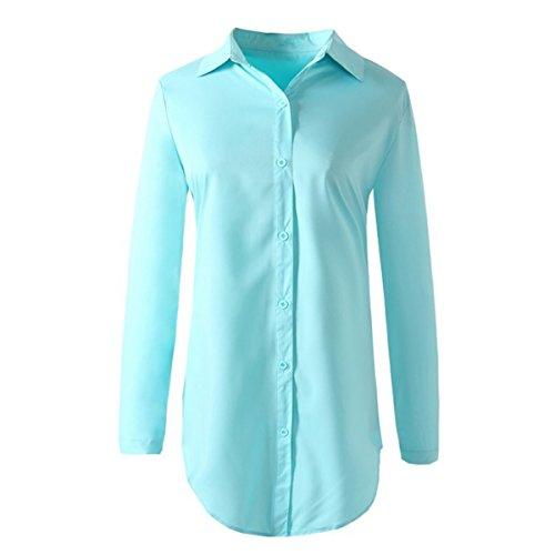 chemise oboss Bleu Femme Body Chemisier 0wg7S