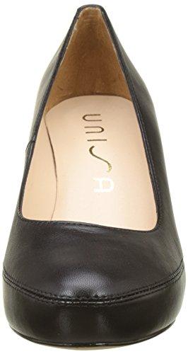 Numar Nero Scarpe Unisa Tacco black Donna Con 18 na TqH4U
