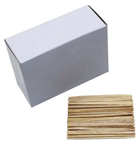 Astick Wood Natural Wooden Flat Toothpicks,Pack of (Flat Wood Toothpicks)
