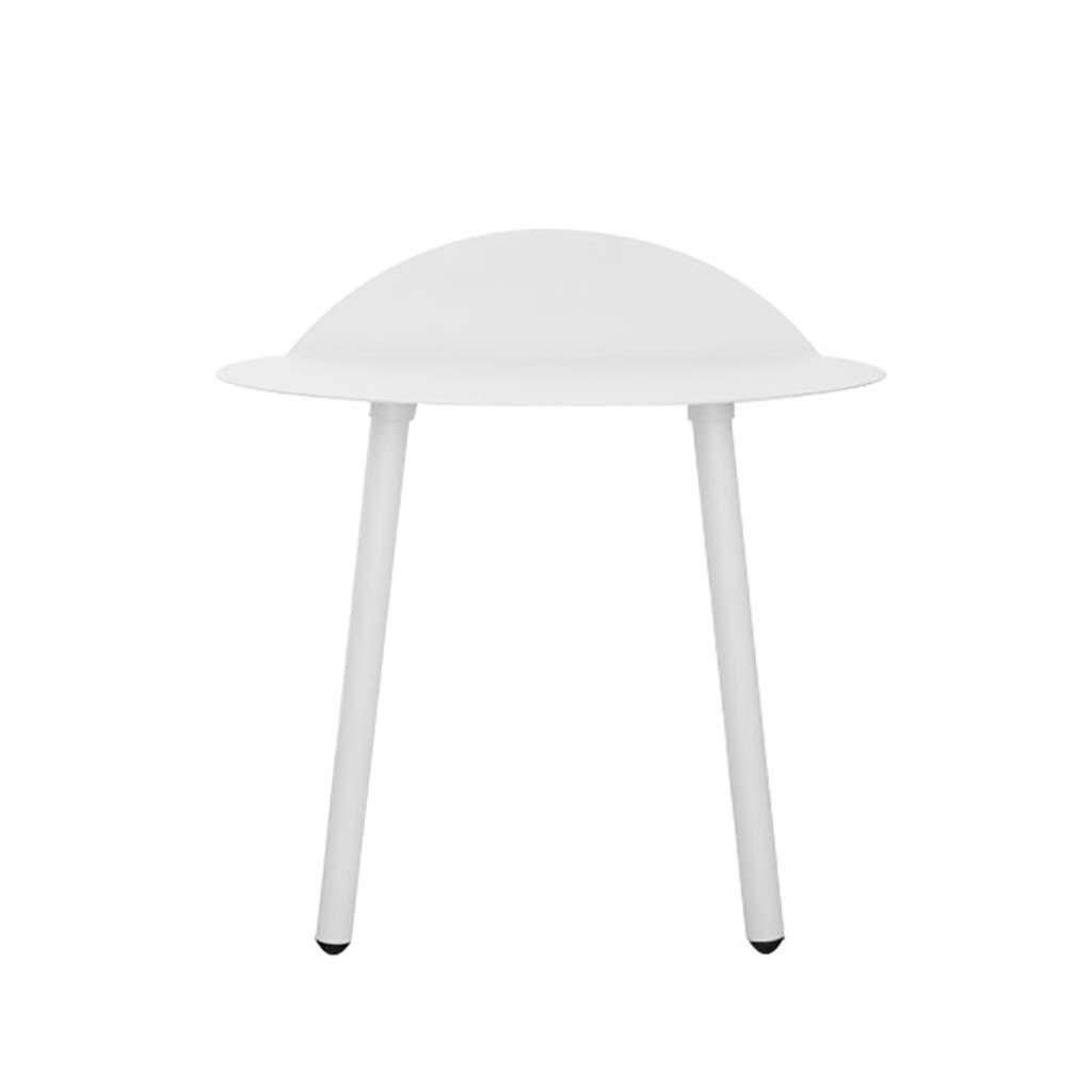 White Wall Tables for Living Room, Metal Wall Desks, Saving Space, Easy to Install, Wall Mounted Desks for Small Spaces (Color : White, Size : Small) by WYQ