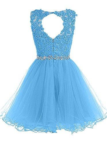 marino mujer azul Vestido Topkleider trapecio para fqAHaaX