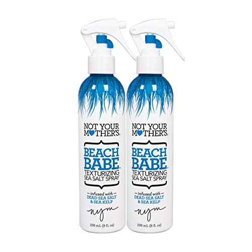 (Not Your Mother's 2 Piece Beach Babe Sea Salt Spray, Texturizing, 16 Ounce)