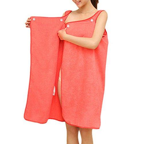 Microfiber Womens Dress - AxiEr Sexy Lady Microfiber Soft Comfortable Beach Bathroom Towel Bathrobe Bathrobe Pajamas Dress Dress