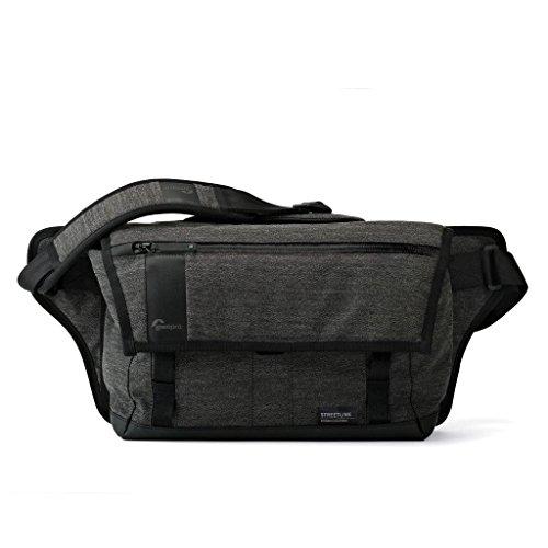 - Lowepro Streetline SL 140 Camera Messenger Bag, Charcoal Gray