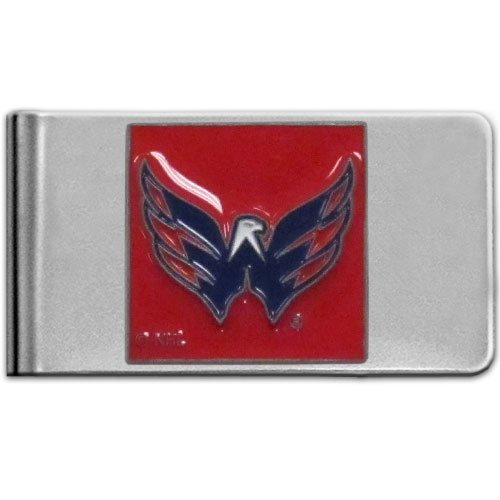 - NHL Washington Capitals Steel Money Clip