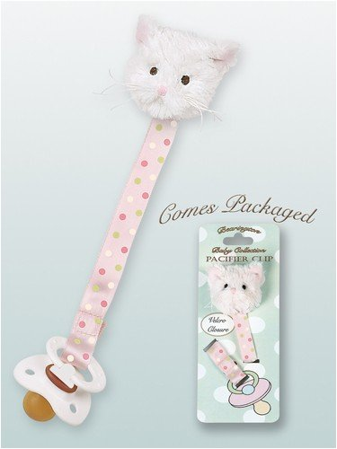 Bearington Collection Purrfect Kitty Pacifier product image