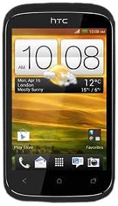 """HTC Desire C - Smartphone libre (pantalla táctil de 3,5"""" 320 x 480, cámara 5 Mp, 4 GB, procesador de 600 MHz, 512 MB de RAM, S.O. Android 4.0 con HTC Sense 4), negro"""