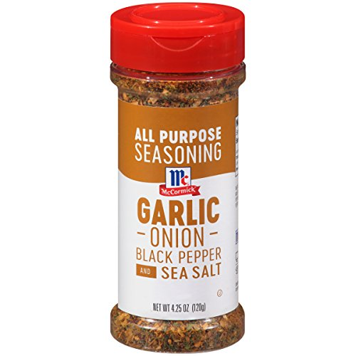 Mccormick Garlic Onion Black Pepper And Sea Salt All Purpose Seasoning  4 25 Ounce