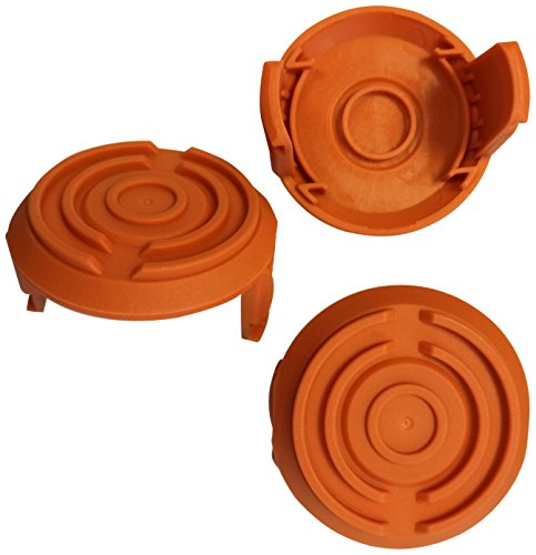 TrimmerEase 3 Piece Spool Cap Cover, 100% Compatible with...