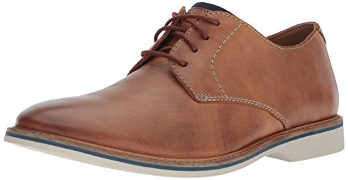 CLARKS Mens Atticus Lace Dress Oxford, Tan Leather, 9.5 D(M) US