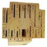 Ronco KN3005BLGEN Six Star+ 20-Slot Wooden Knife Block Holder