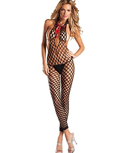 Bodystocking Open Front - 9