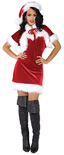 Adult Merry Costumes Holiday (Womens Halloween Costume- Merry Holiday Adult Costume)