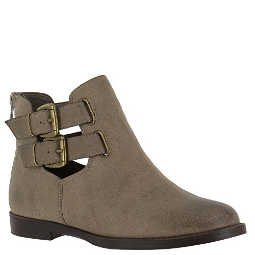 Bella cuero Leather Bootie piedra Stone mujer Burnished Ramona Vita Ankle rwnqrZYP