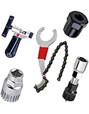 Fiets Chain Tools Set, Bike Link tang, Kettingbreker Splitter Tool, Chain Checker, Chain Link Connector, Chain Remover/Bracket Remover/Freewheel Remover/Crank Puller Remover