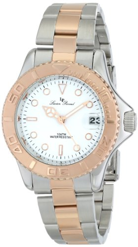Lucien Piccard Women's LP-12652-SR-22 Walen Analog Display Japanese Quartz Two Tone Watch