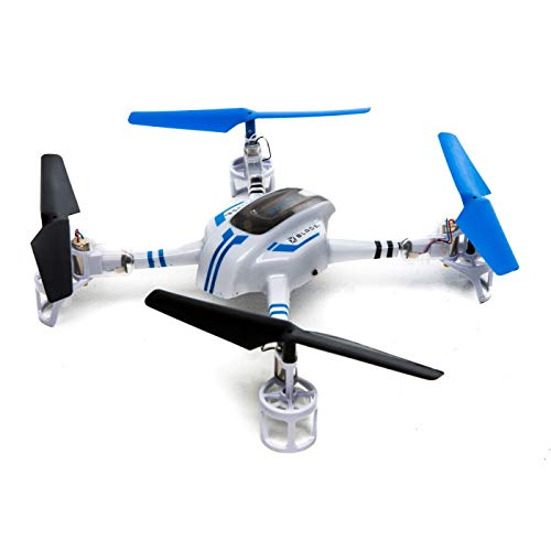 (Blade BLH9750 Ozone BNF Basic Quadcopter with Safe Technology, White and Blue)