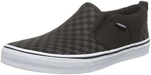 Asher, Boys' Road Running Shoes, Black (Black 01X), 1 UK