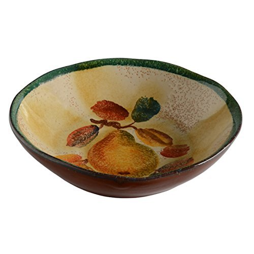 Cuisine Counter Table (Italian Dinnerware - Soup Bowl - Handmade in Italy from our Frutta Laccata Collection)