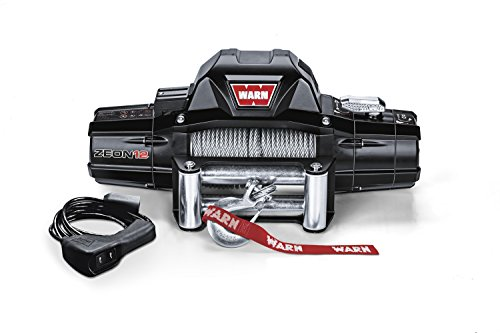 (Warn 89120 ZEON 12 Winch with Wire Rope - 12000 lb. Capacity)
