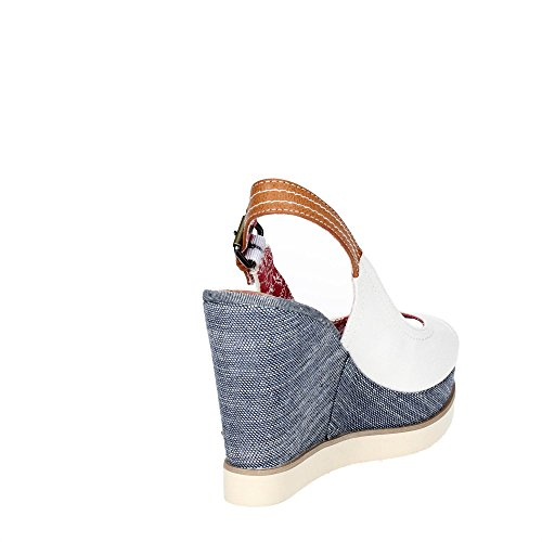 Wrangler WL171682 Zapatos De Cuña Mujer WHITE 39