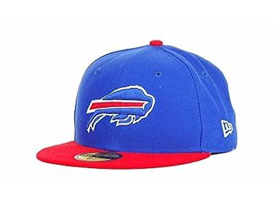 NFL Mens Buffalo Bills On Field 5950 Royal Blue Game Cap By New Era