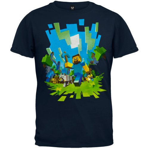 Minecraft Adventure Youth T-shirt