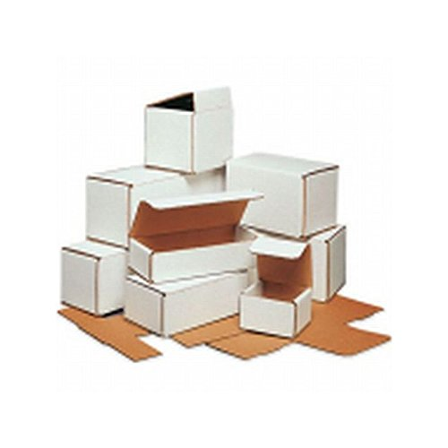 Box Packaging White Corrugated Mailer, 10'' x 6'' x 4'' - Bundle of 50 by Box Packaging