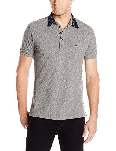 Diesel Men's T-Serpico Shirt, Felt Grey, (Diesel Mens Casual Shirts)