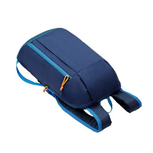 Dainzuy Unisex Sports Backpack, Hiking Rucksack Men Women Backpacks Water Resistant Anti-Theft Travel Bags Satchel Dark Blue