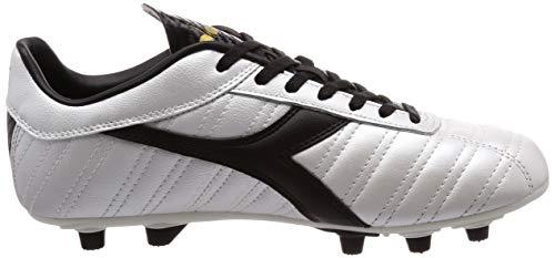 Diadora 03 Uomo nero bianco Indoor Perlato Mdpu Lt Multicolore Calcetto Da Scarpe C2348 oro Baggio 88wr5Z