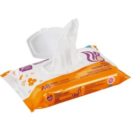 Parent's Choice Flushable Toddler Wipes, Ultra Soft, Gentle on Skin, 144 count, 3-pack of 48