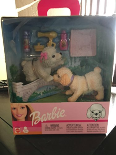 Barbie Bobbin Bow-Wows Dogs Bobble Head Springer Spaniel - Bobbin Head
