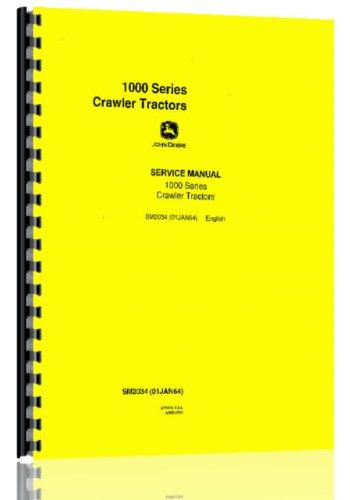 John Deere 1010 Crawler Service Manual (John Deere Crawler)
