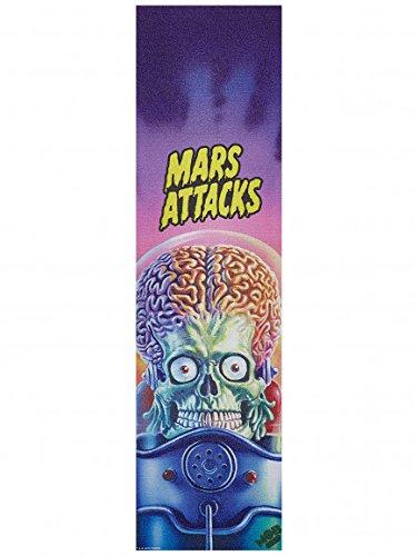 Santa Cruz Skateboards MOB Mars Attacks Rude Dude Griptape - 9'' x 33''