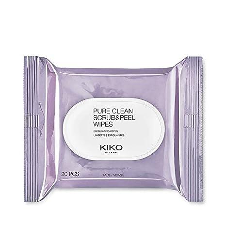 Kiko Milano – puro Scrub & peel un paquete de 20 toallitas húmedas que tanto Exfoliar
