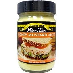 Walden Farms Calorie Free Mayo Honey Mustard -- 12 oz