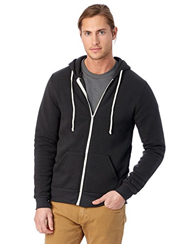 Zipper Hooded Mens Sweatshirt - 7