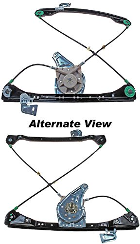 APDTY 851602 Window Regulator Manual; Non-Powered; Hand Crank Type Fits Front Right (Passenger-Side) 1999-2004 Pontiac Grand Am 4-Door 1999-2004 Olds Alero 4-Door (Replaces 22697442) ()