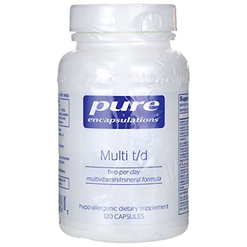 Pure Encapsulations Hypoallergenic Multivitamin Concentrated