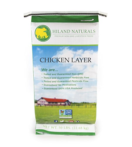 50Lb Bag Non Gmo Chicken Layer Shipping Included