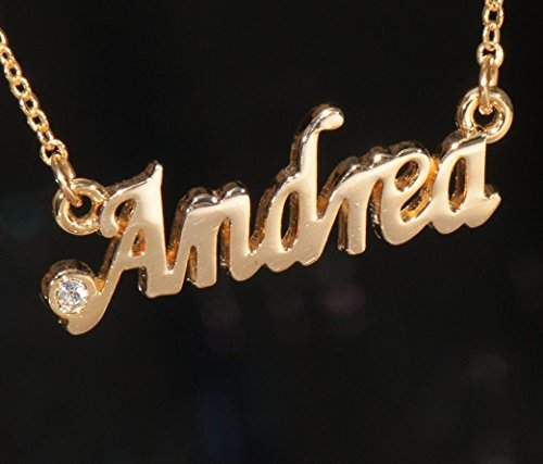 Andrea Personalized Name Necklace