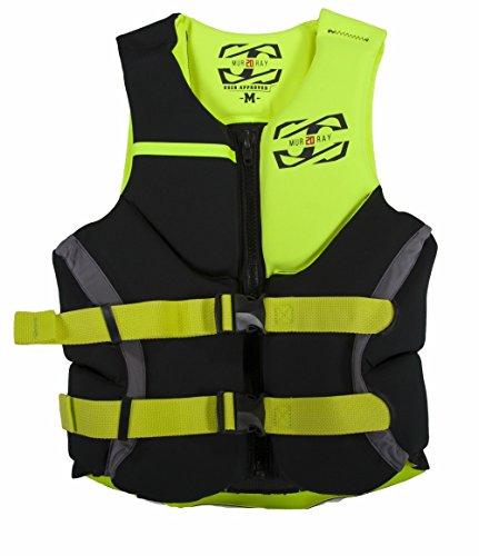 JetPilot Men's Murray U.S Coast Guard Approved PFD Life Vest, Small, Yellow