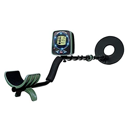 "Qwest Dual LED 50"" Metal Detector Kit w/Shovel Scoop, Kids Children Educational"